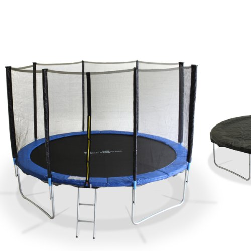 trampoline alice s garden 370 cm saturne xxl meilleur loisir. Black Bedroom Furniture Sets. Home Design Ideas